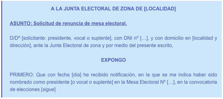 modelo-carta-excusa-renunciar-mesa-electoral
