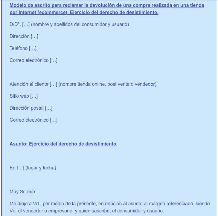 modelo-carta-para-ejercer-derecho-desistimiento-compra-online
